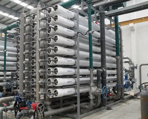 新疆电厂化学水处理设备预处理系统及突发事件处理方法